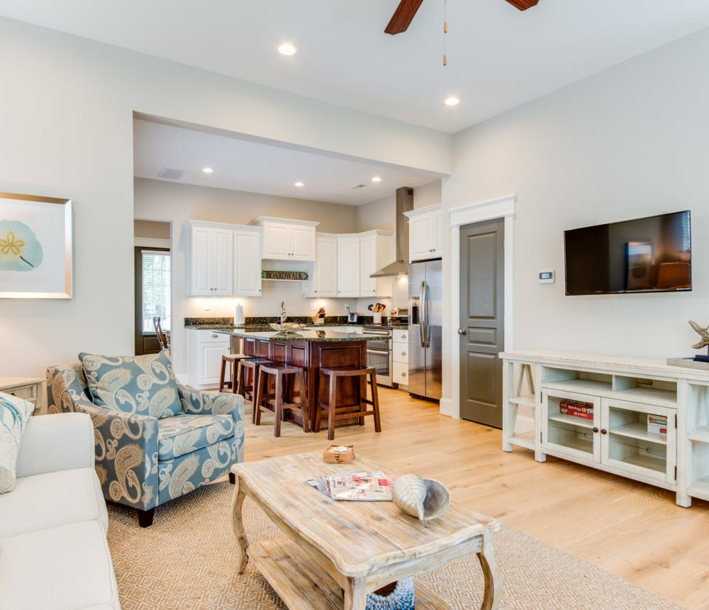 Open Concept Kitchen and Living Space