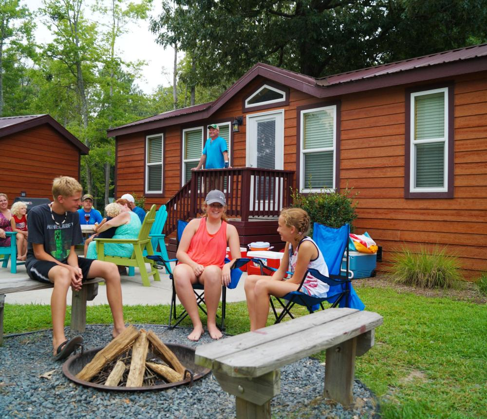 A Cabin 8 person