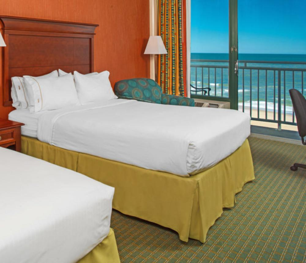 Oceanfront Standard Two Queen Guest Room