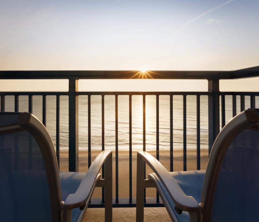 Oceanfront hotel on the Virginia Beach Boardwalk