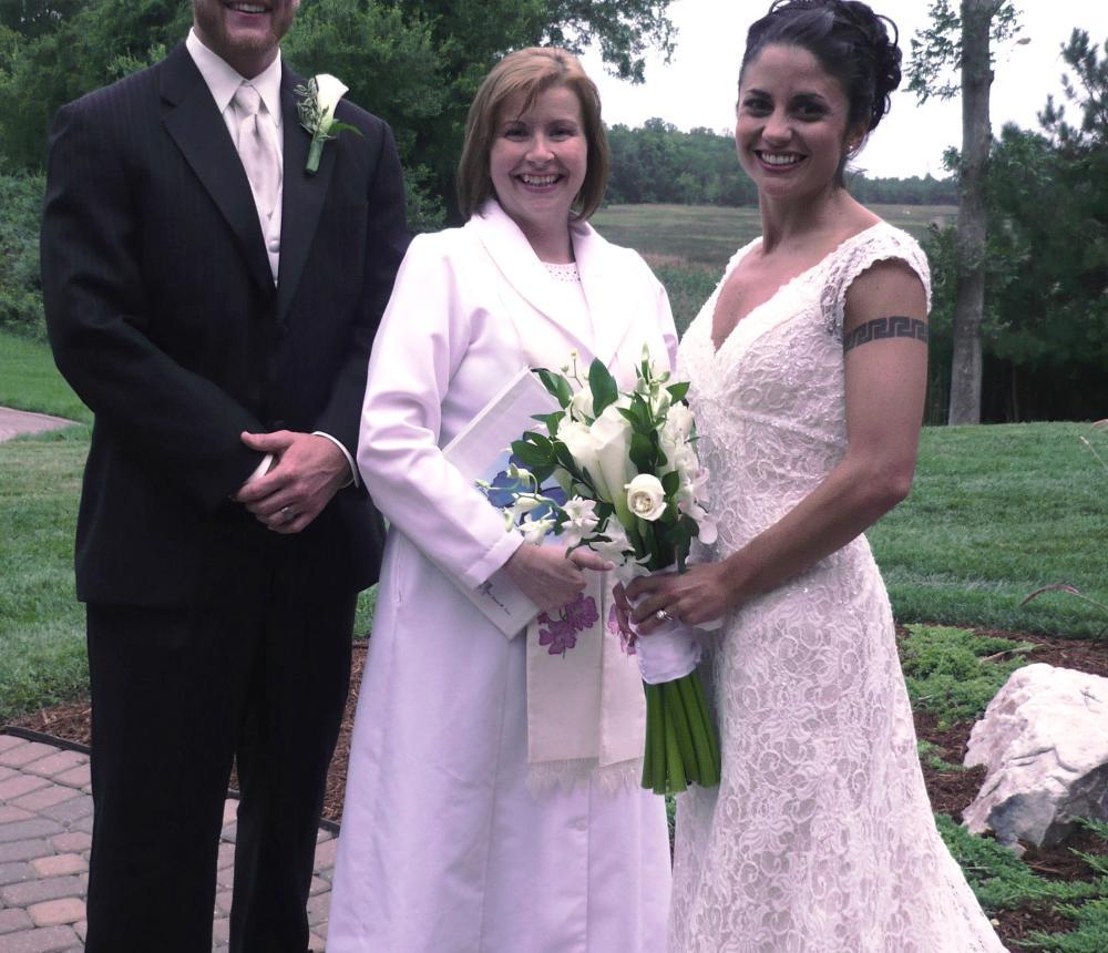 Backyard Wedding on a Lake