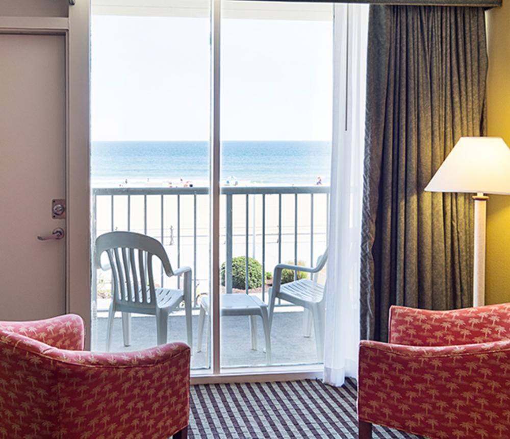 Oceanfront View Double Room
