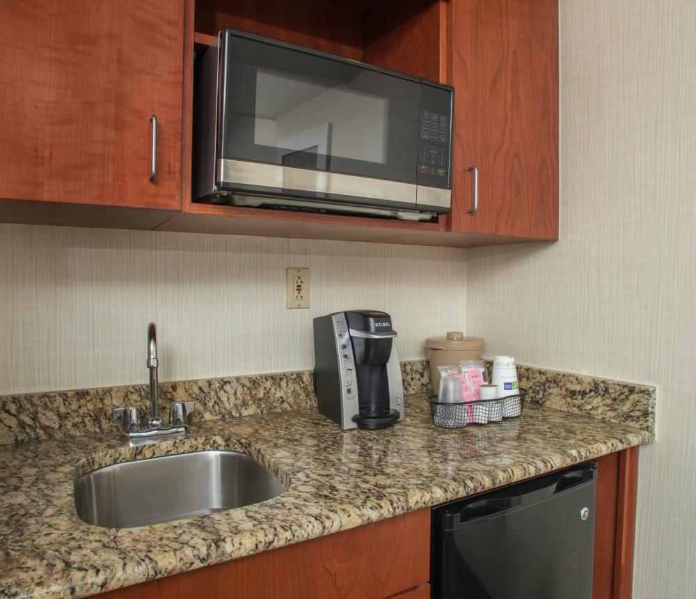 Suite Wet Bar in Separate Living Space