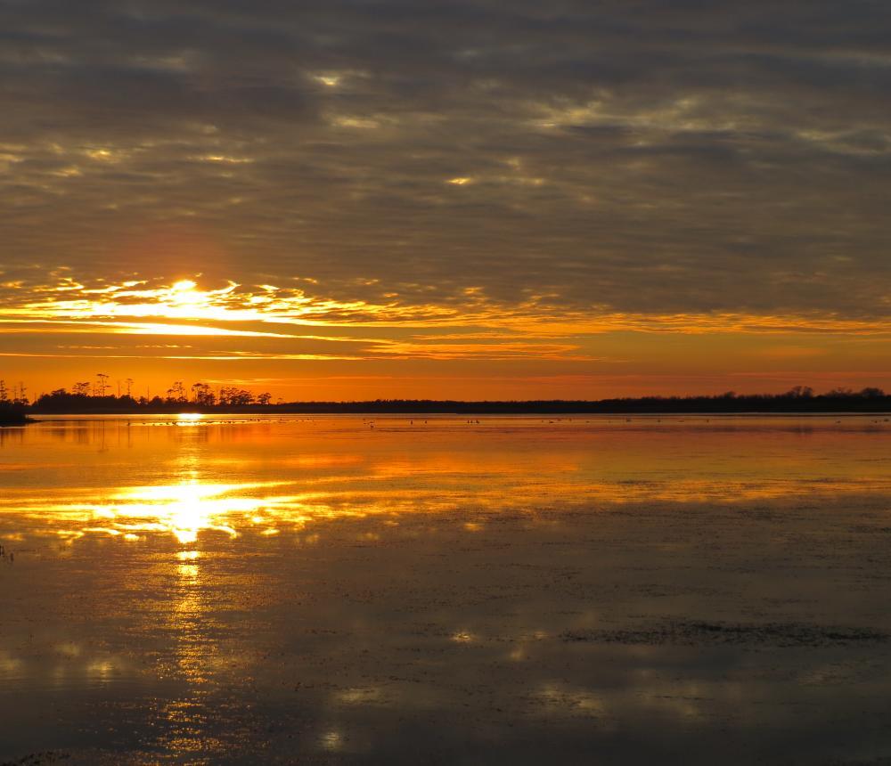 Sunset on Back Bay