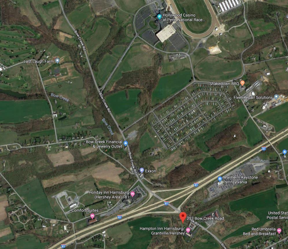 MAP: Tru by Hilton Grantville