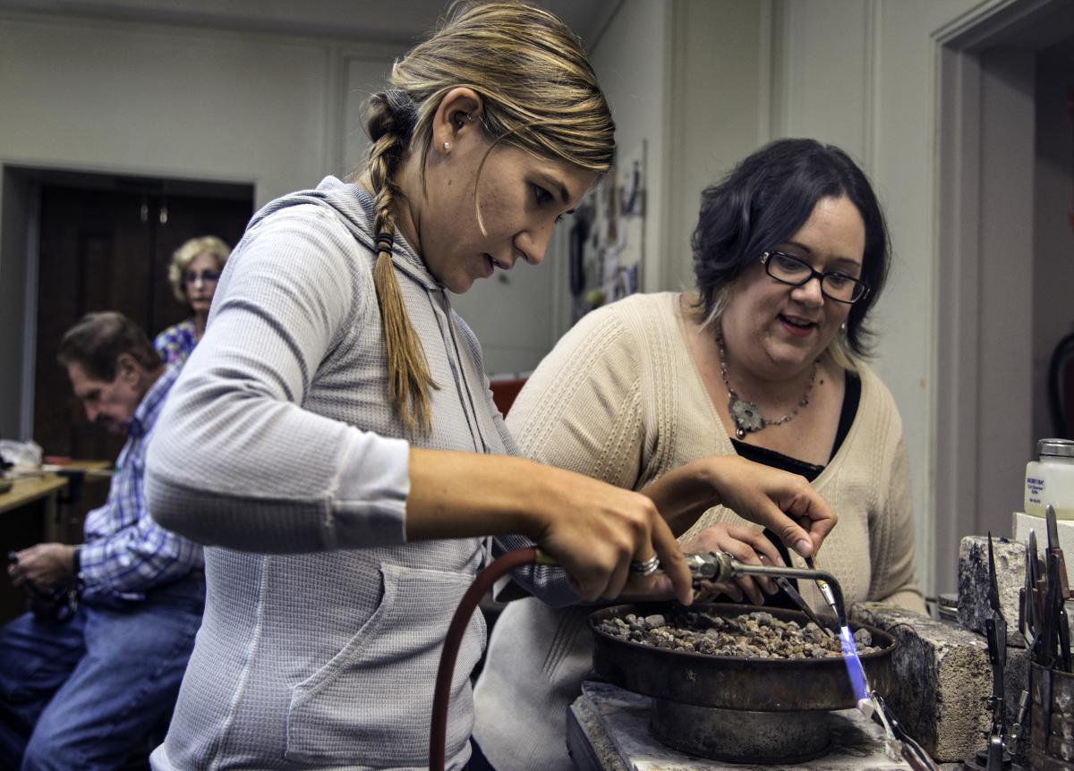 Abington Arts Center Metalworking Workshop
