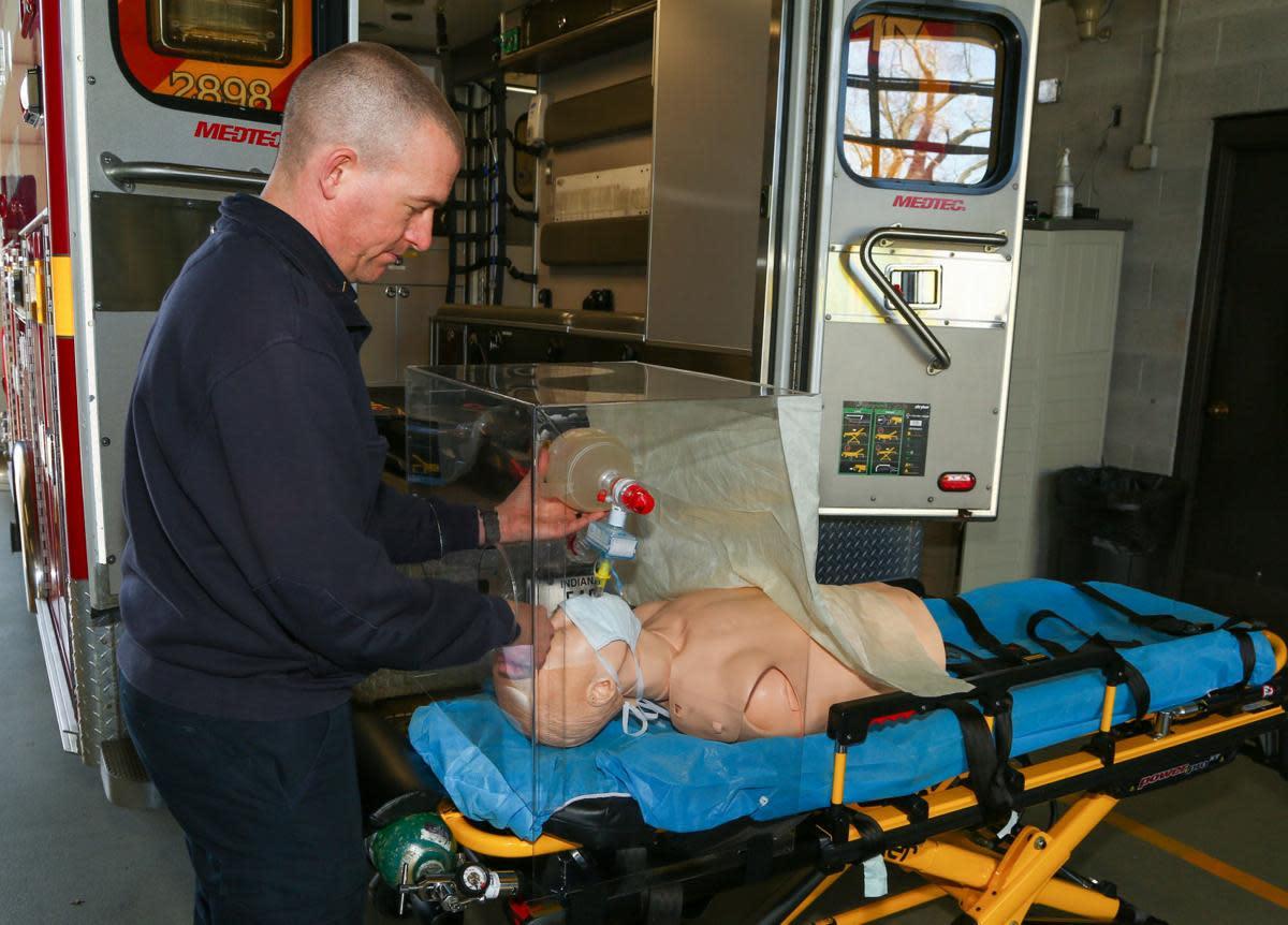 Boxes protect paramedics