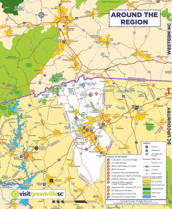 Regional Map - 2019