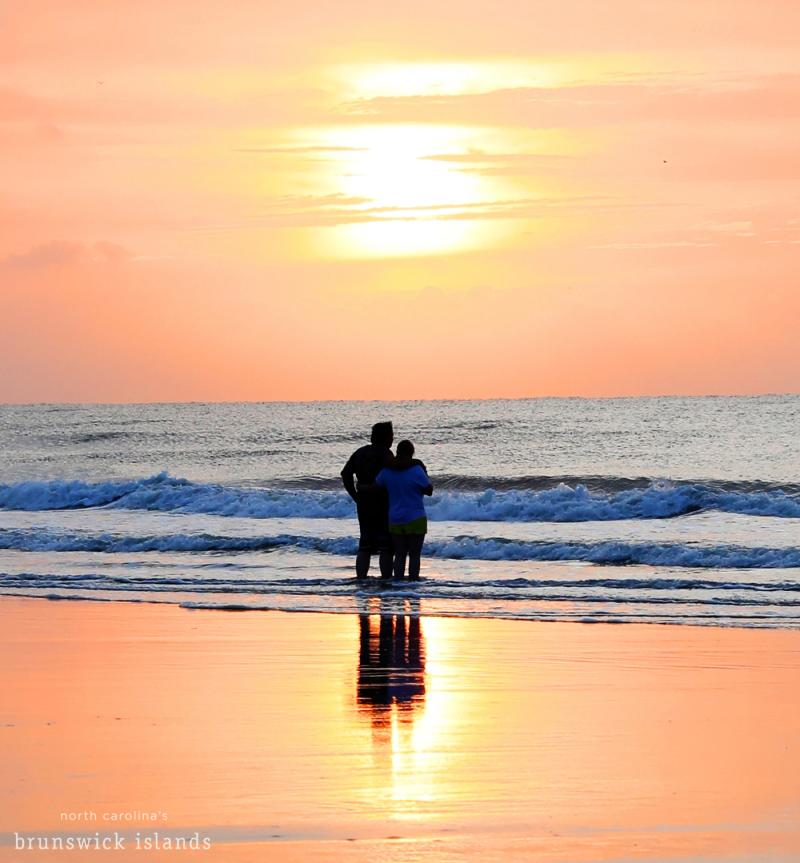 couple at sunrise