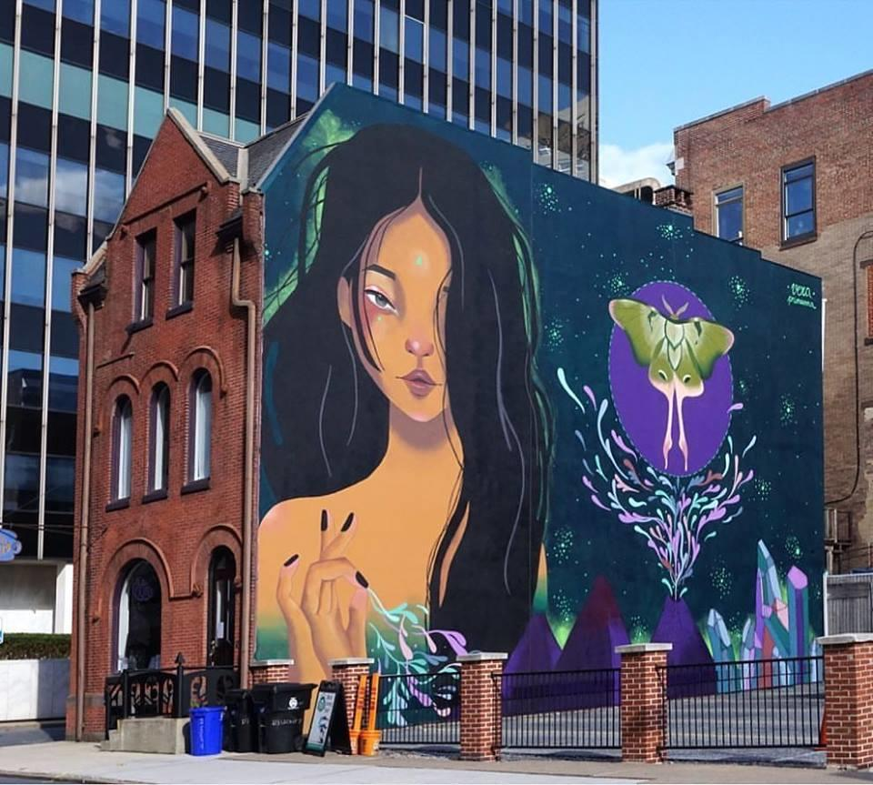 Harrisburg Mural by Vera Vera Primavera