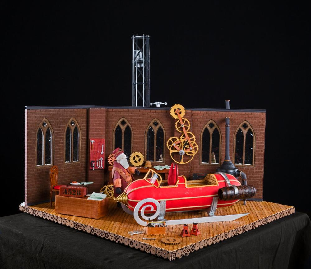 2018 National Gingerbread House Competition Grand Prize Winner