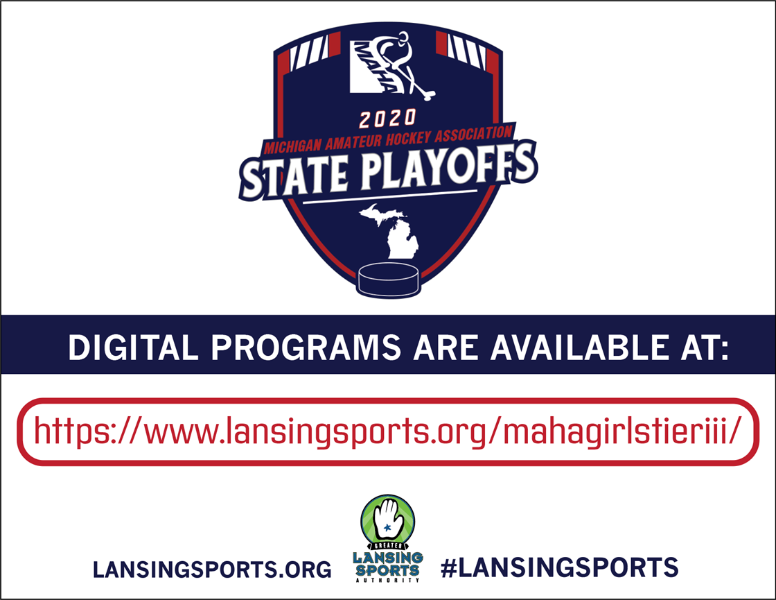 maha girls tier iii state playoffs digital program graphic