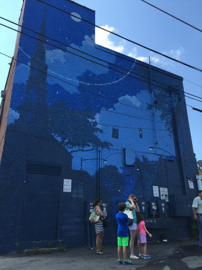 The Blue Mural