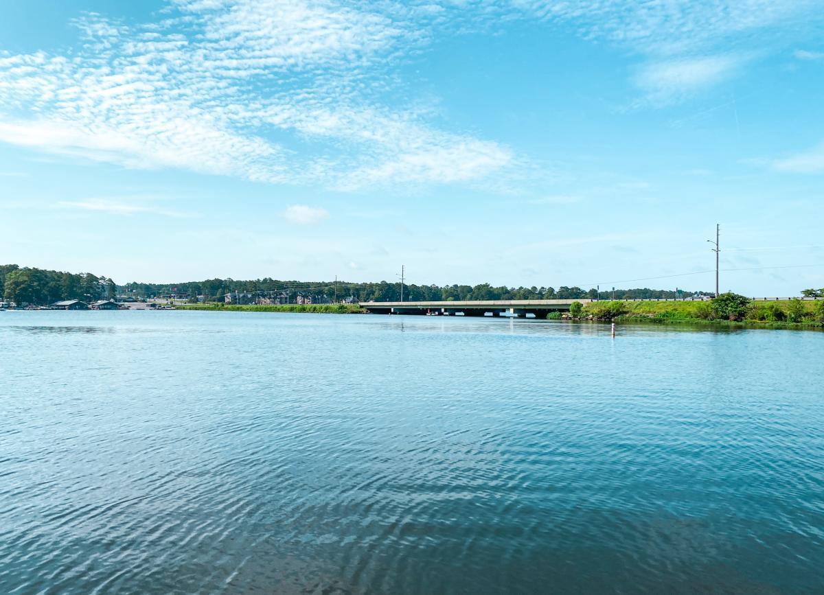 Lake Sinclair 441 bridge