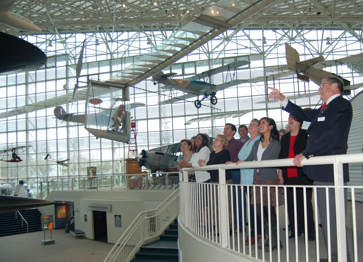 Group Tour at Museum of Flight