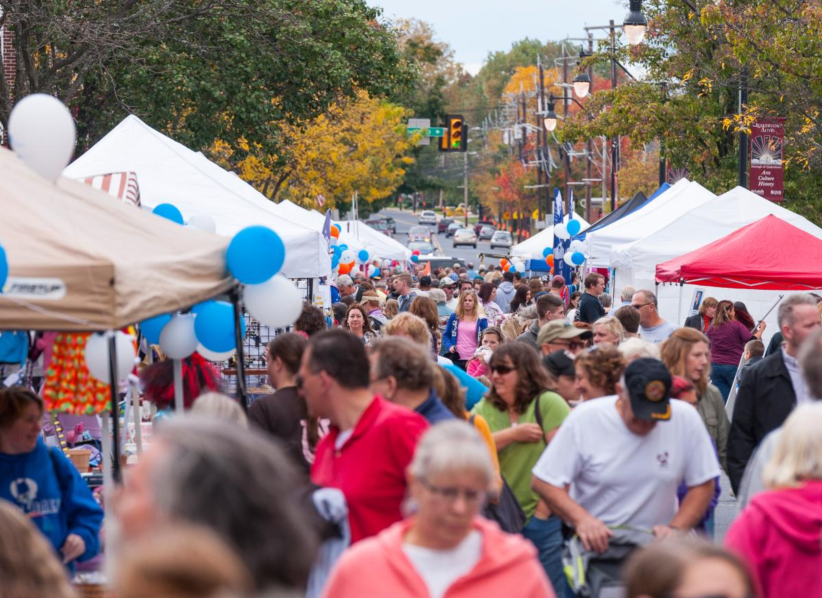 Come enjoy classic Americana on the main street of Quakertown in Upper Bucks during Autumn Alive.