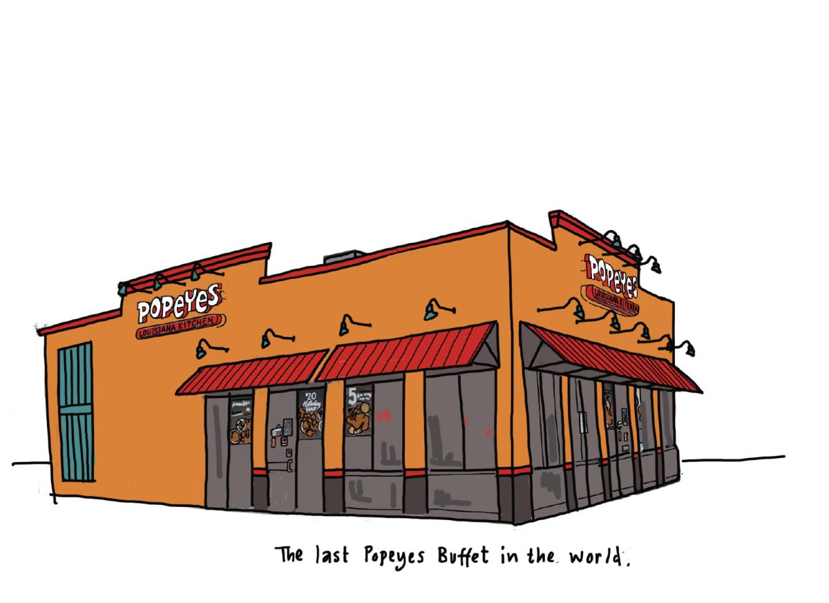 Popeye's Buffet