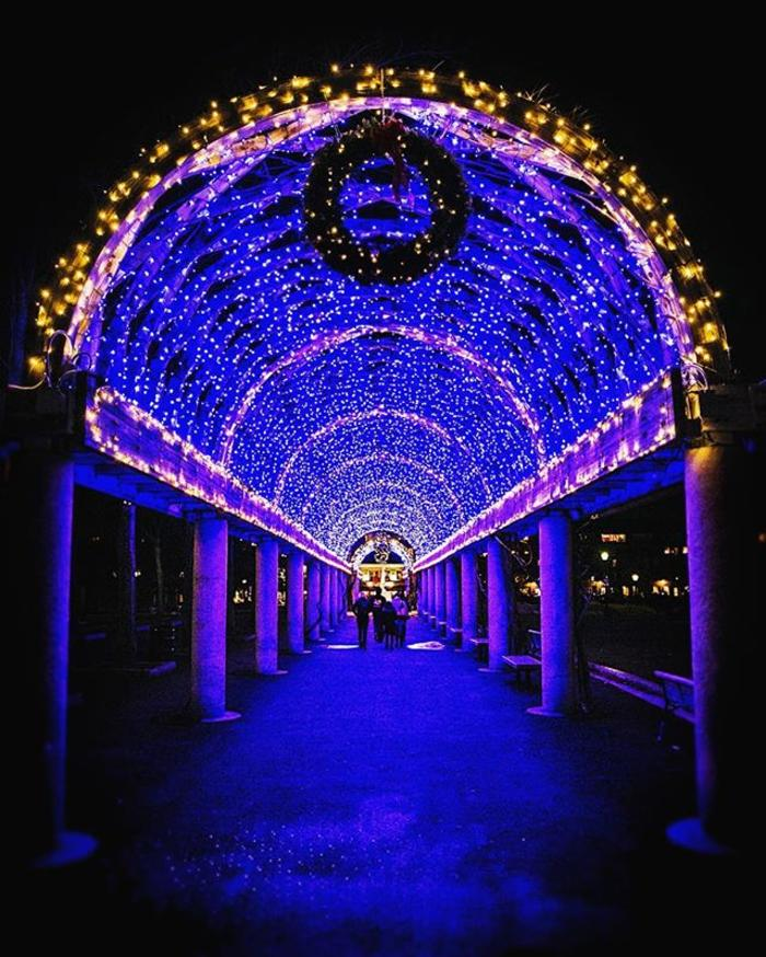 Boston's Holiday Lights Trail, Columbus Park Trellis
