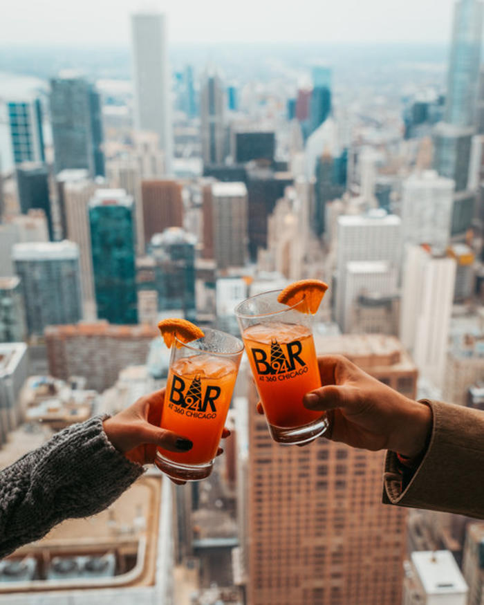 Beers at 360 Chicago