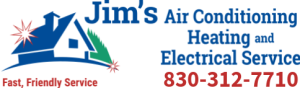 Jim's A/C, Heating and Electrical Service Logo