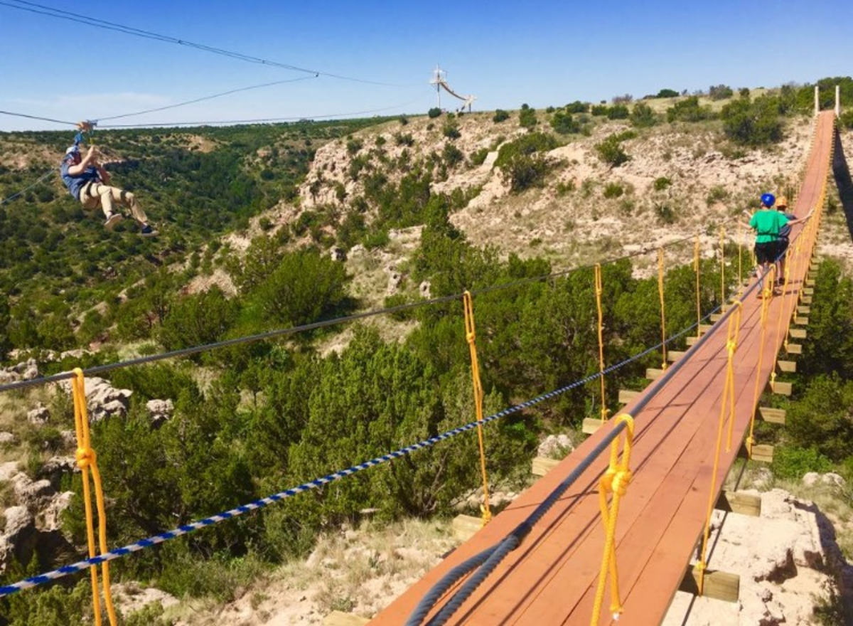 Palo Duro Zip Line