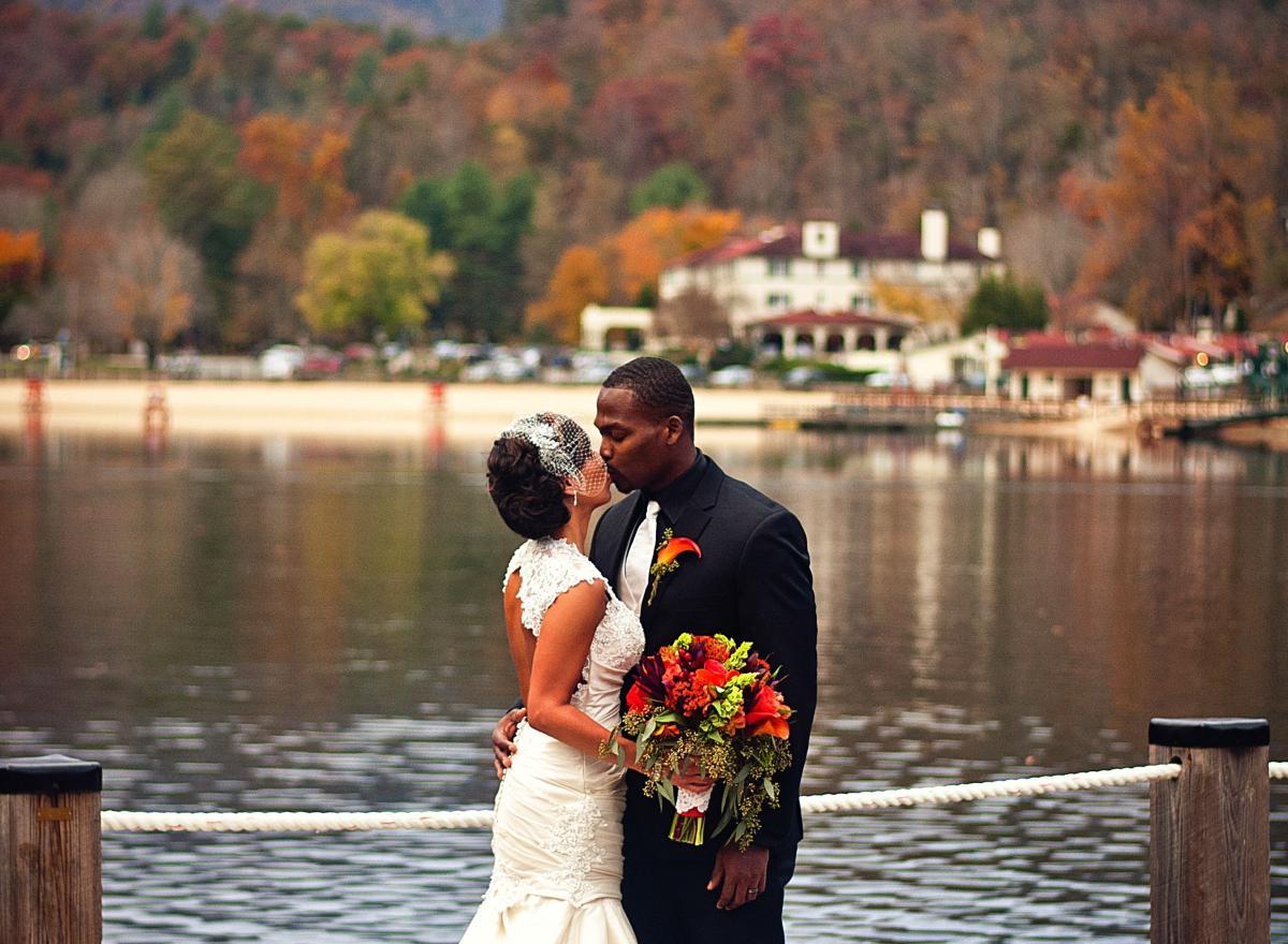 Wedding at Rumbling Bald