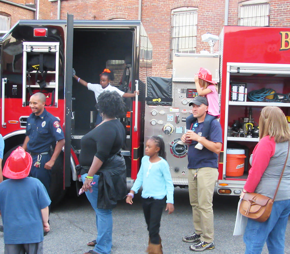 First Friday Touch a Truck