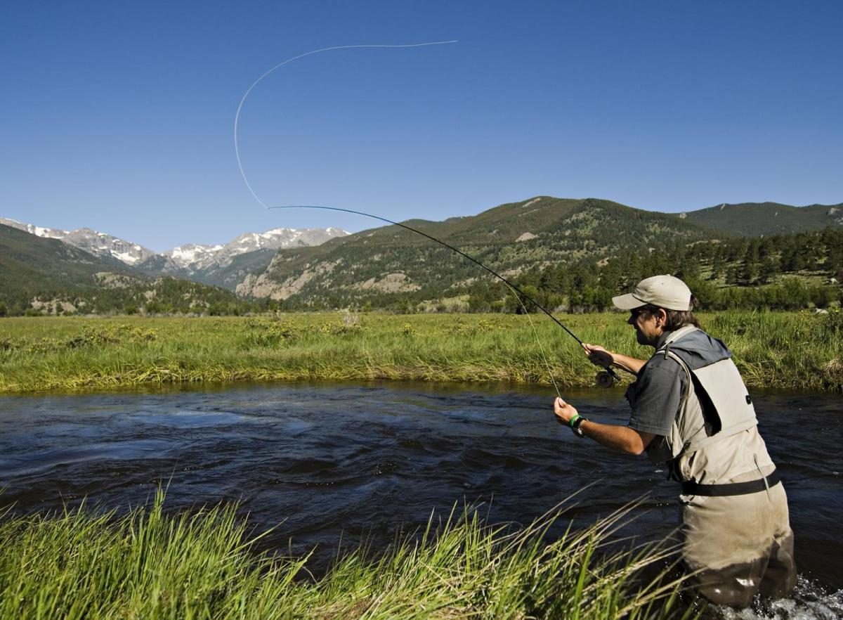 Abundant  Fishing in Pristine Mountain Lakes and Streams