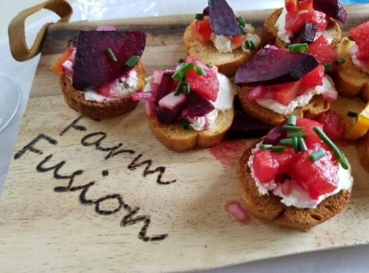 Farm Fusion finger foods