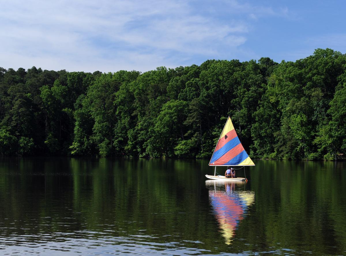 Lake Crabtree County Park
