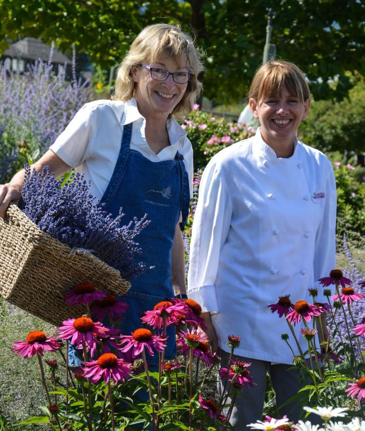 Lavender Farm and Sandrine