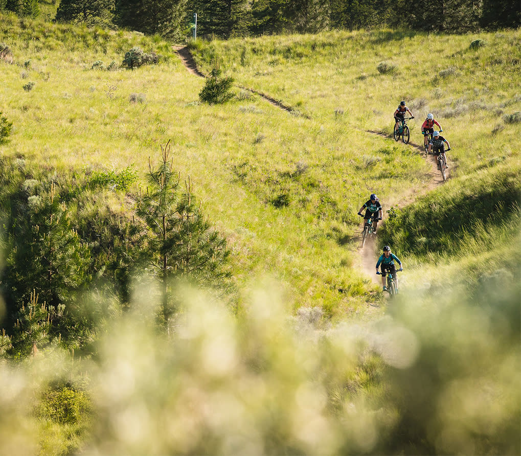 Dirt Chix Mountain Biking at the Kamloops Bike Ranch