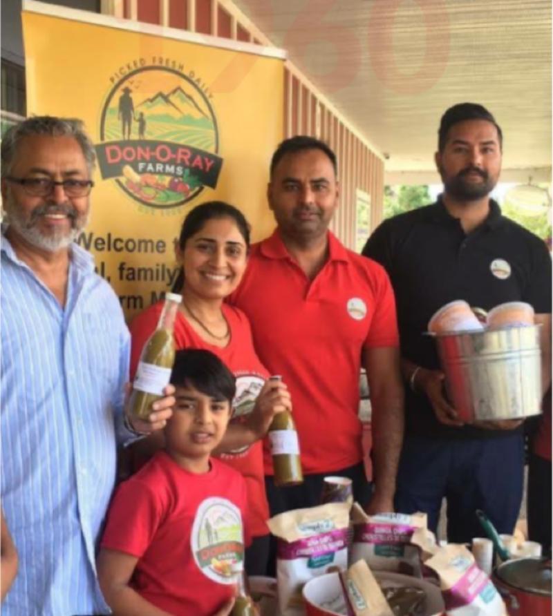 Sandhera Family - Don O Ray Farm Market