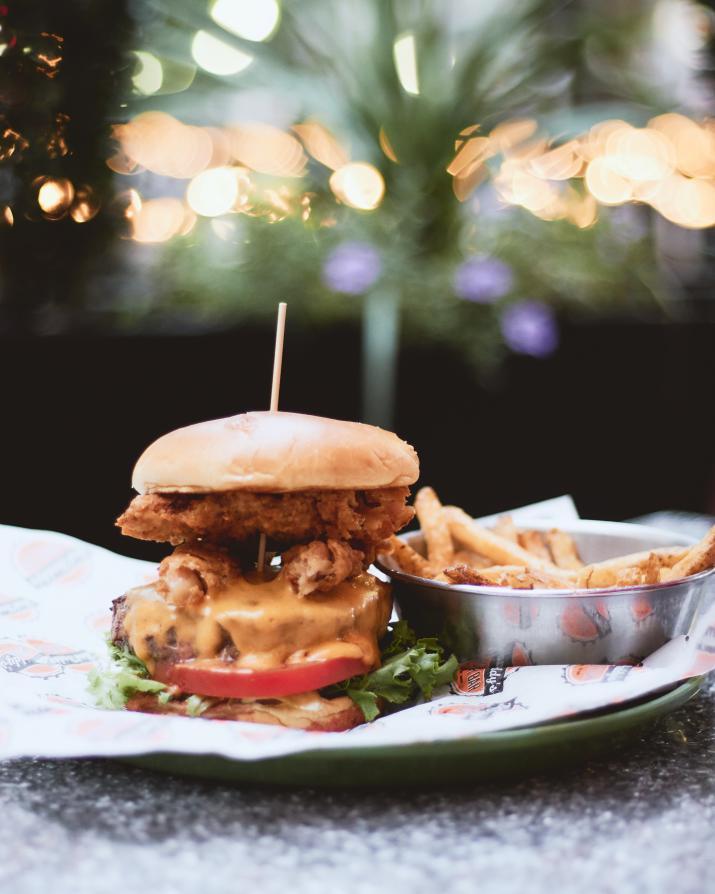 Burger, Fries