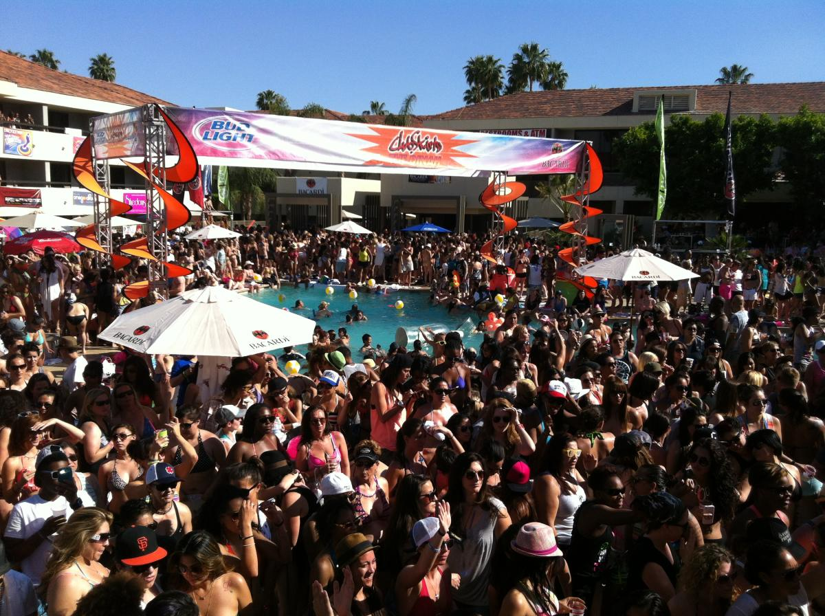 Pool party at The Dinah.
