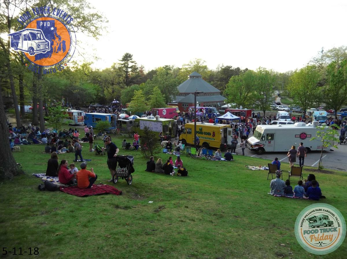 Food Truck Friday Carousel Village