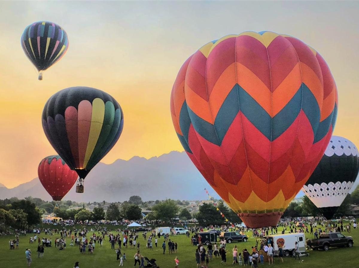Hot Air Balloon Festival in Sandy