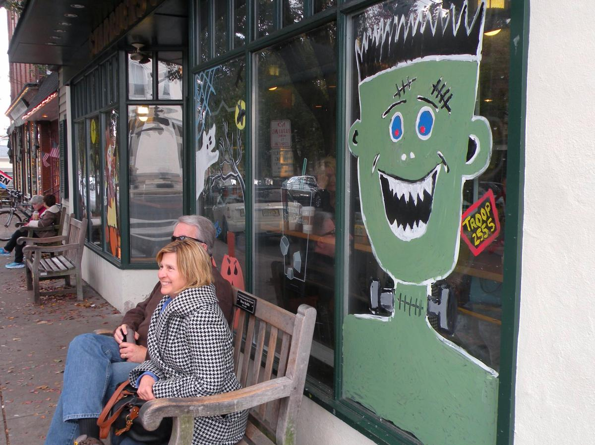 Newtown Halloween Art Scene