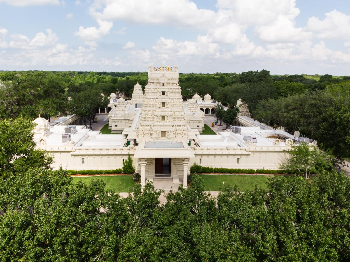 Sri Meenakshi Temple view