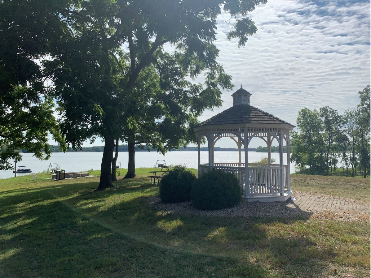 Gazebo at Deer Creek