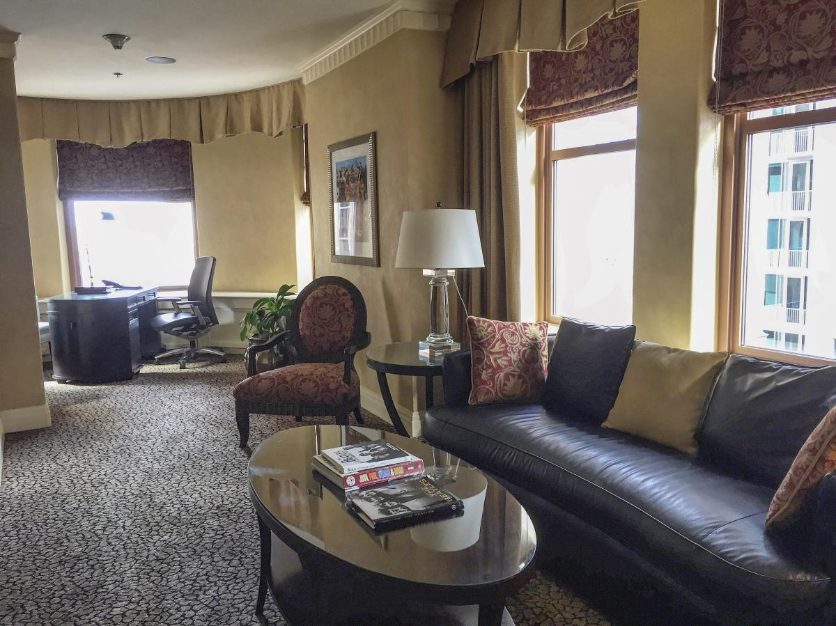 Beatles room at Brown Palace Hotel