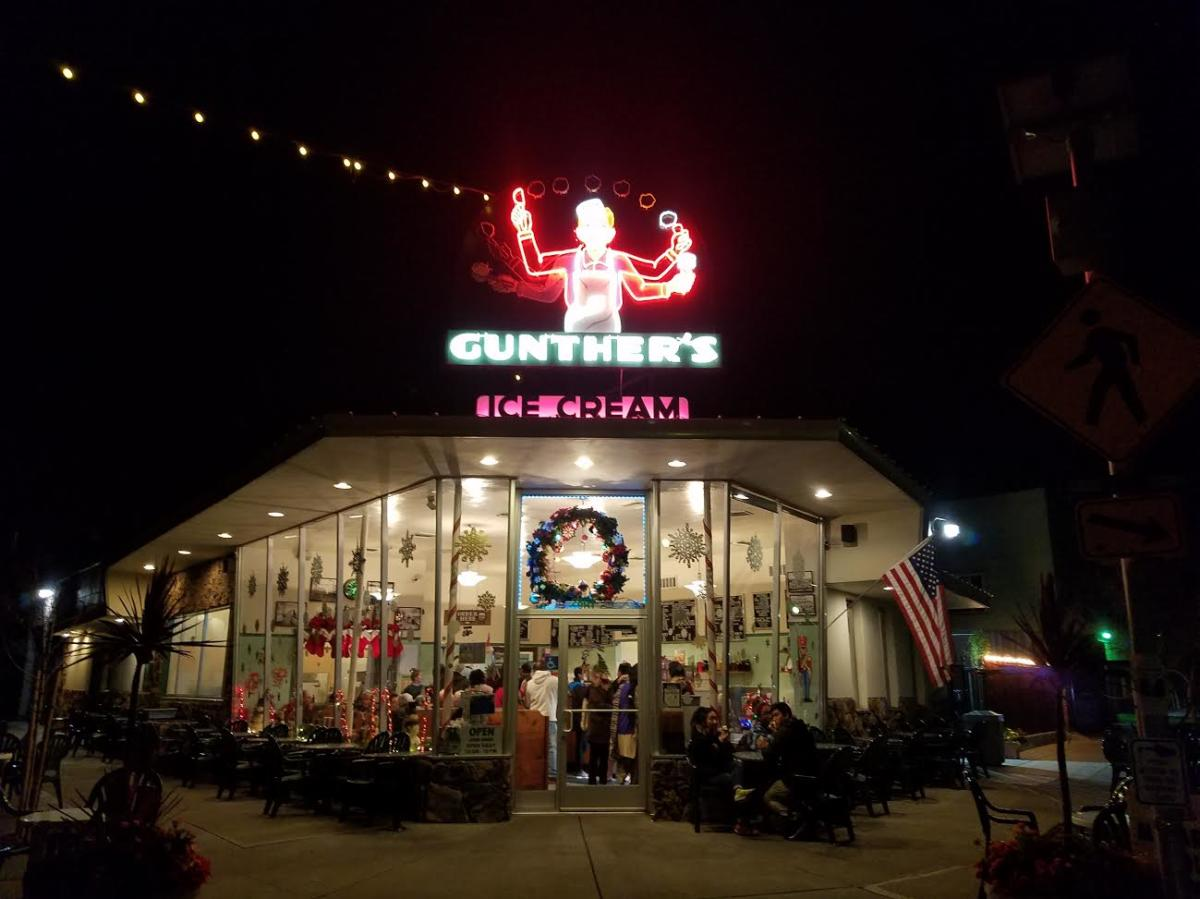 Gunther's Ice Cream Shop