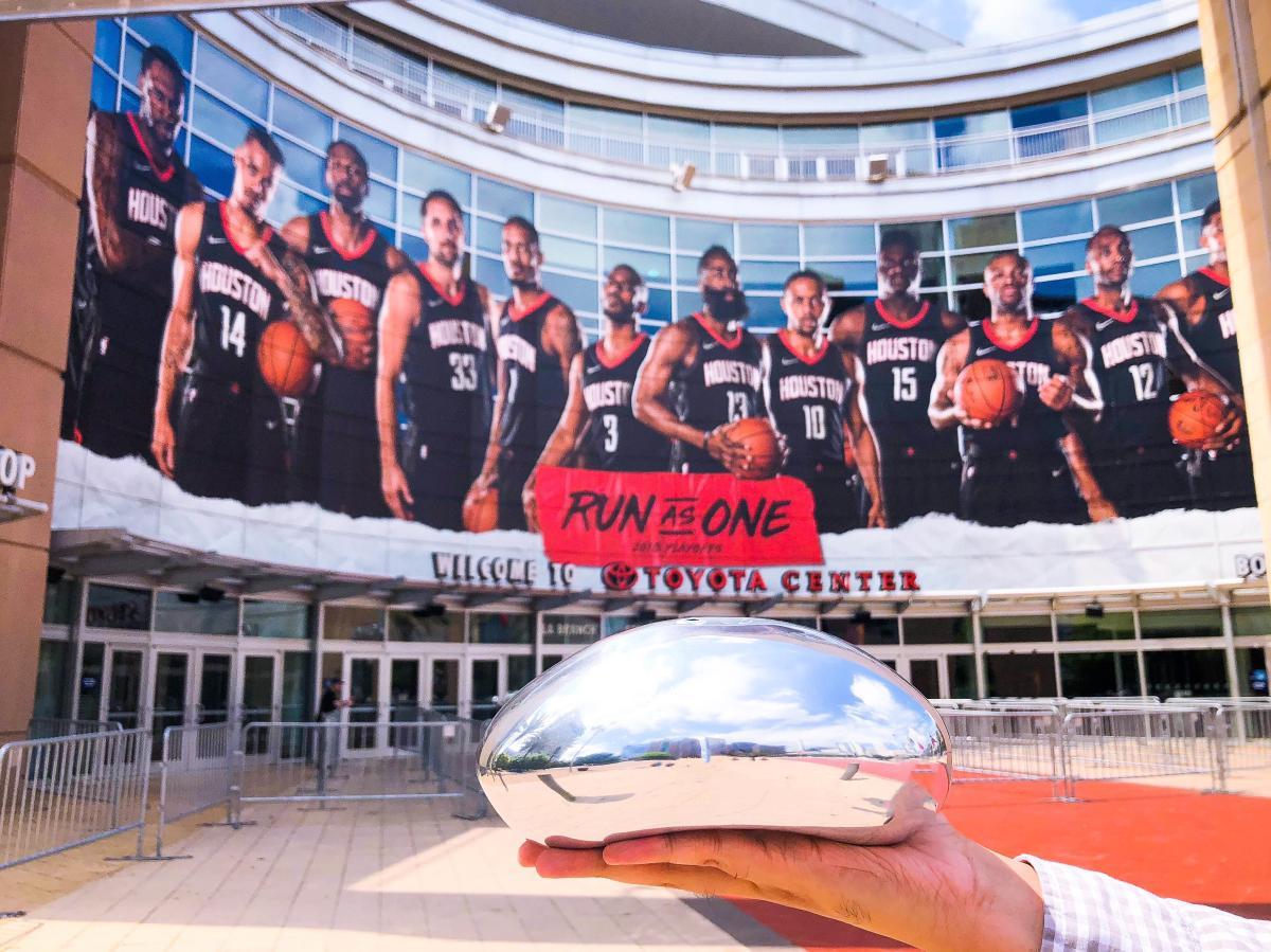 Chicago Bean at Toyota Center