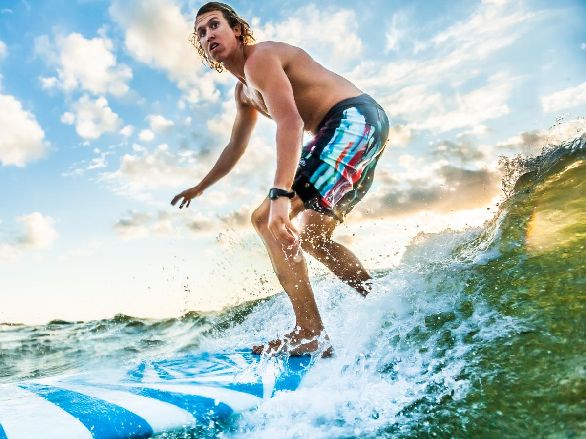 Tony Silvagni Carolina Beach Surfing