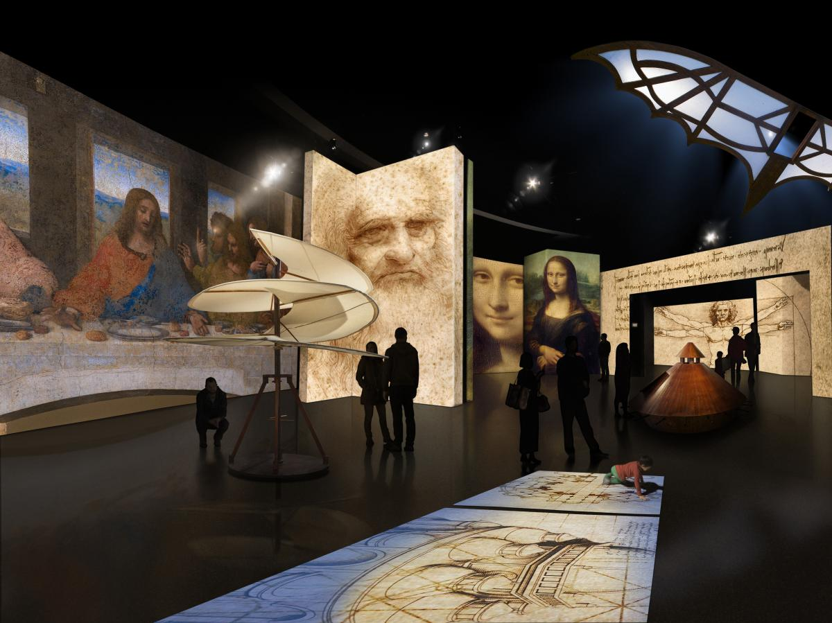Leonardo da Vinci at the Denver Museum of Nature & Science