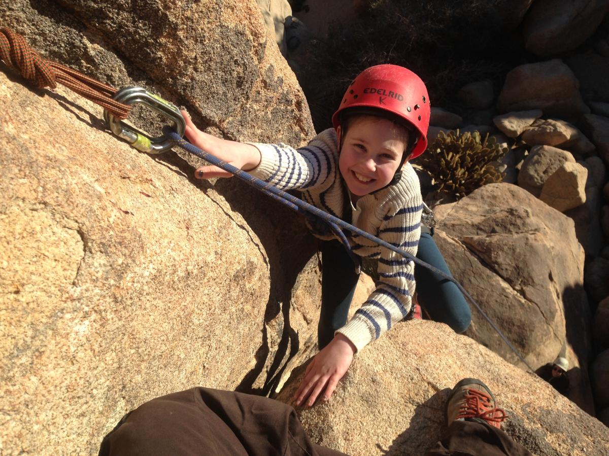 rock climbing in palm springs
