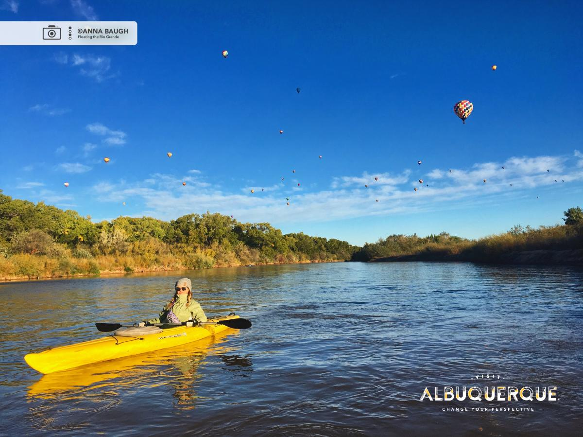 Floating the Rio Grande