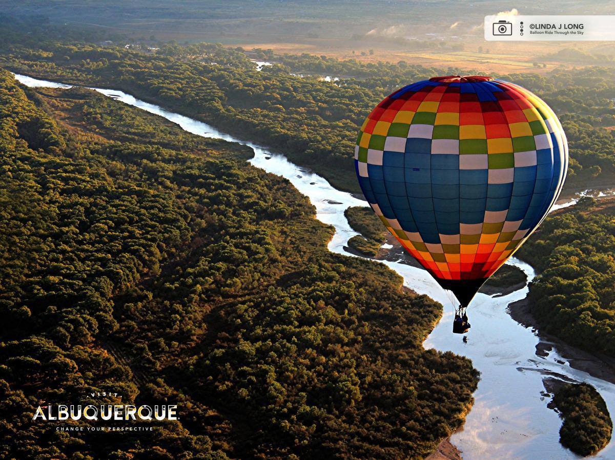 Balloon Ride Through the Sky