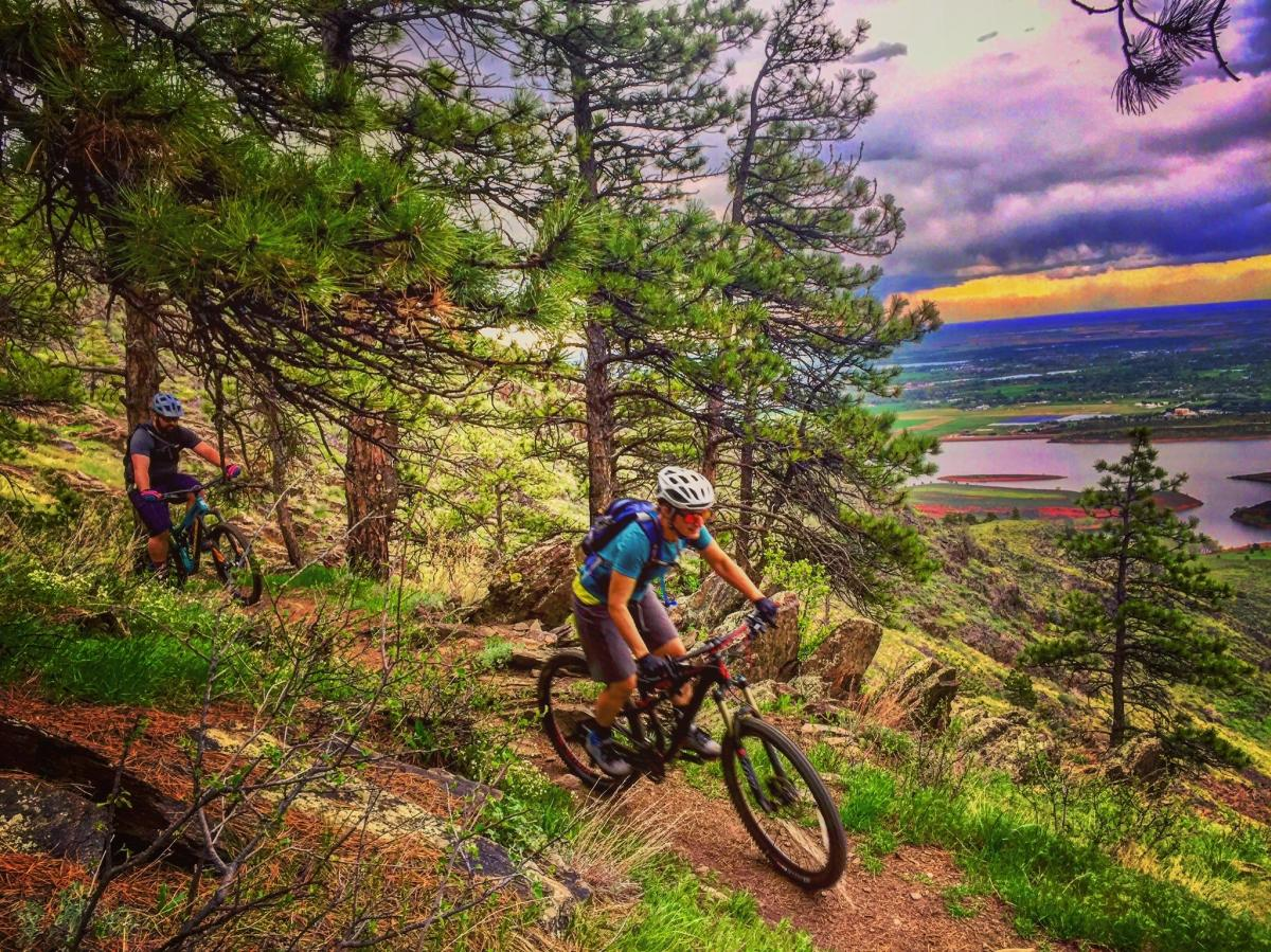 Horsetooth Fall Mtn Biking credit FRRG