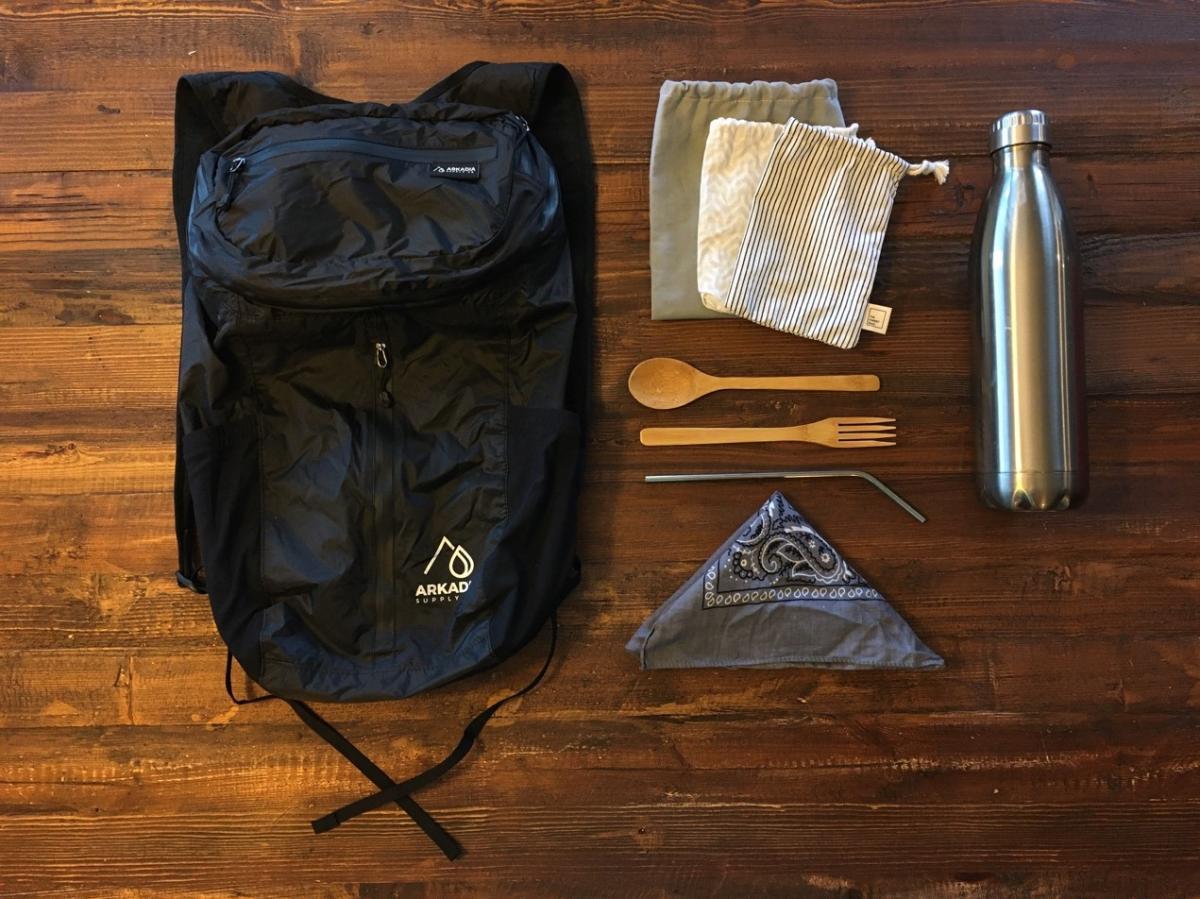 Zero-Waste Backpack